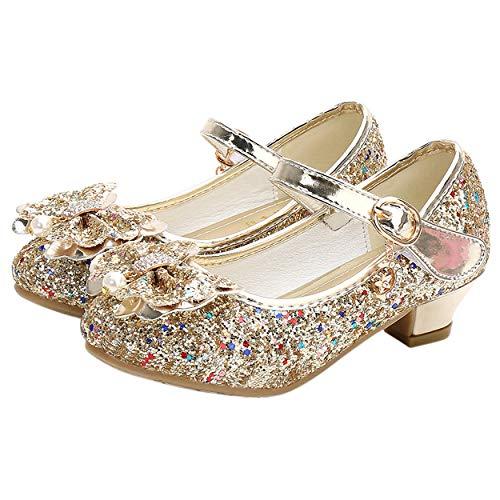 YOSICIL Mädchen Prinzessin Schuhe ELSA Schuhe mit...