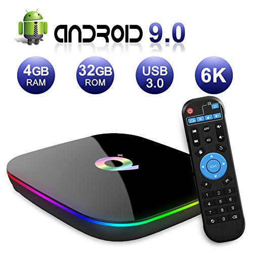 Android TV Box 9.0, 2019 Latest Android Box 4GB...