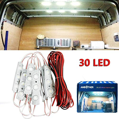 AMBOTHER® LED Innenbeleuchtung 10x3 LED...