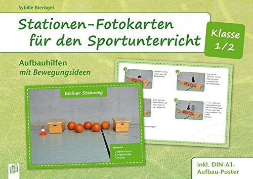 Stationen-Fotokarten für den Sportunterricht -...