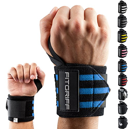 Fitgriff® Handgelenk Bandagen [Wrist Wraps] 45cm...