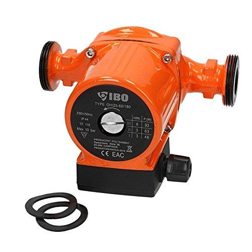 Umwälzpumpe IBO OHI 25-60/180 Heizungspumpe Pumpe...