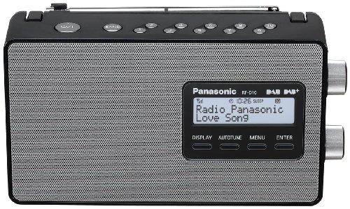Panasonic RF-D10EG-K Digitalradio (DAB+/UKW Tuner,...