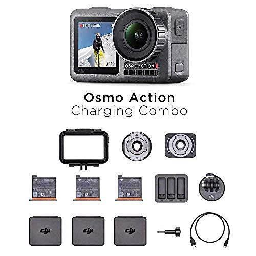 DJI Osmo Action Charging Combo - Digitalkamera mit...