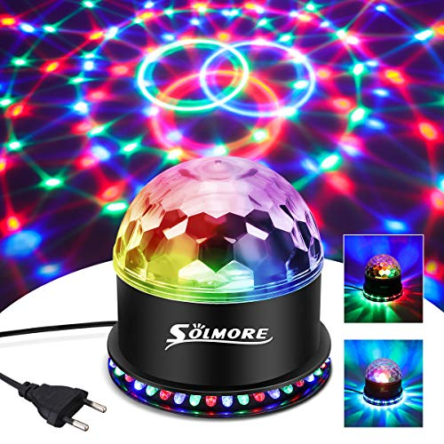 LED Discokugel,SOLMORE 51LEDs 12W Discolampe...