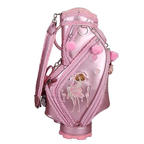 DHTOMC Bleistift Golf Bag Adult Golf Zubehör Pink...