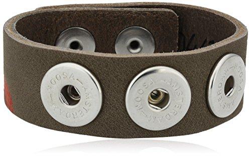 Noosa Damen-Armband Classic Skinny Messing 22.0 cm...
