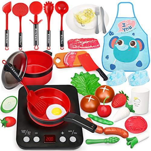 Sanlebi Küchenspielzeug, Kinderküche Zubehoer...
