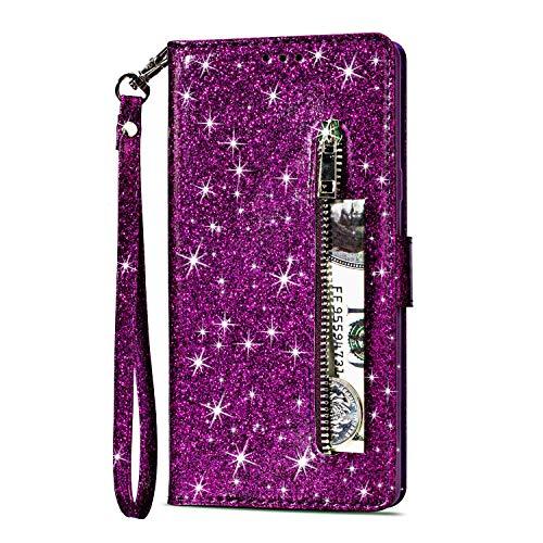 Artfeel Reißverschluss Brieftasche Hülle für...
