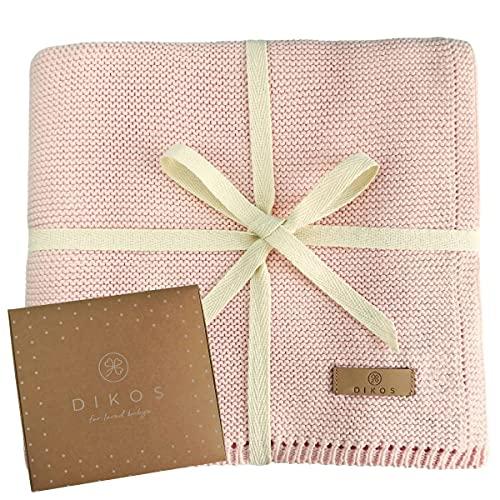 Babydecke Baumwolle rosa | 100% GOTs BIO...
