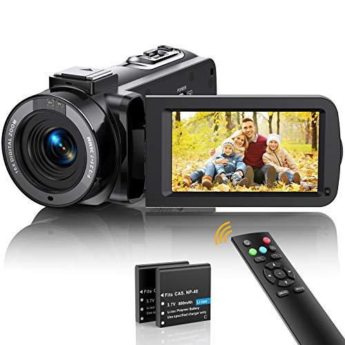 Videokamera Camcorder FHD 1080p 36MP Vlogging...