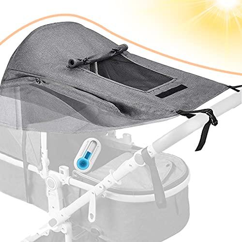 Dioxide Universal Kinderwagen Sonnensegel mit UV...
