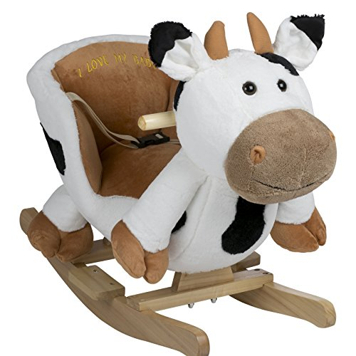 BabyGo Rocker Schaukeltier Kuh - Schaukelkuh Cow...