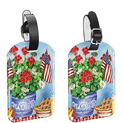Reisetasche und Gepäcketikettenanhänger für...