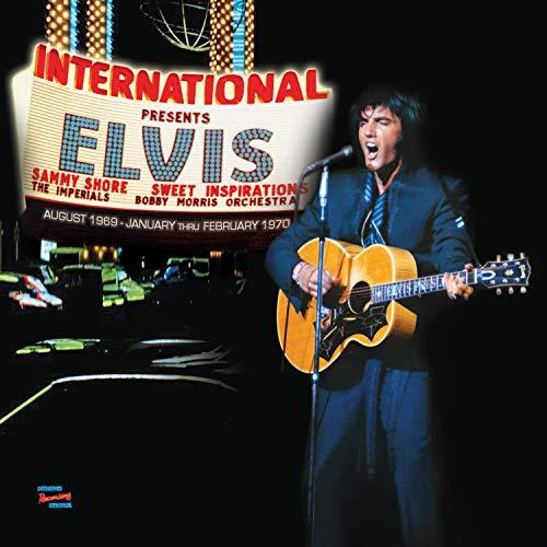 LAS VEGAS INTERNATIONAL PRESENTS ELVIS (The First...