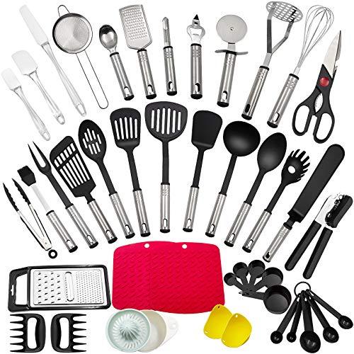 Küchenhelfer Set, 43 Stücke Küchenzubehör...
