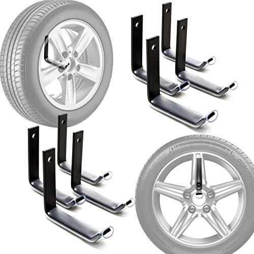 Reifenhalter Wandmontage für 8 Reifen Zubehör...