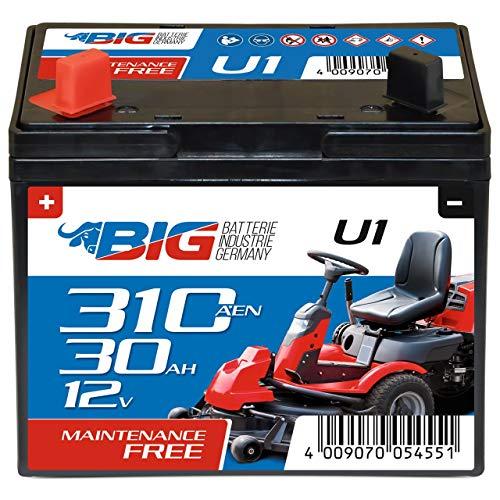 BIG U1 Garden Power Rasentraktor-Batterie 12V 30Ah...