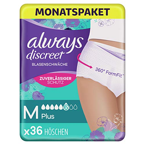Always Discreet Inkontinenz Pants Gr. M, Plus (36...