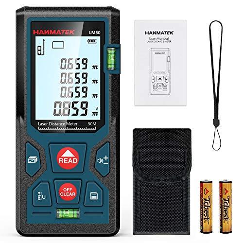 Entfernungsmesser, HANMATEK LM50 50M Digitales...