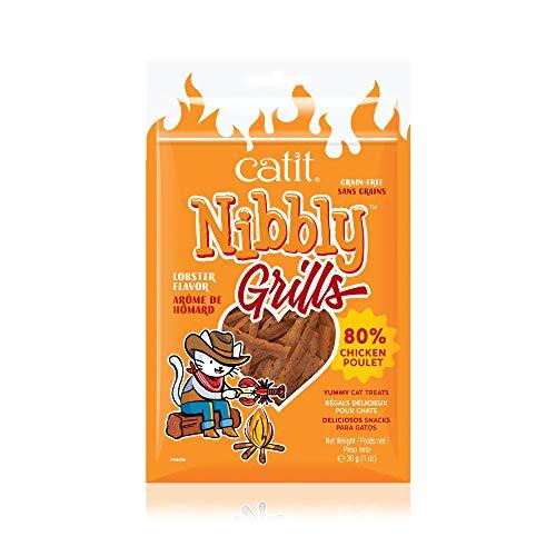 Catit Nibbly Grills Kaustreifen für Katzen aus...