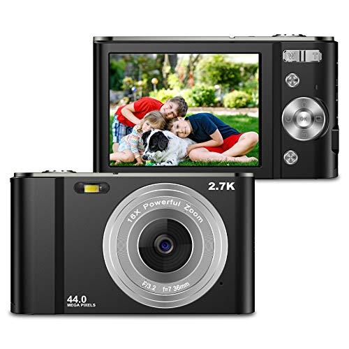 ZORNIK 2.7K Digitalkamera,Kamera Digital...