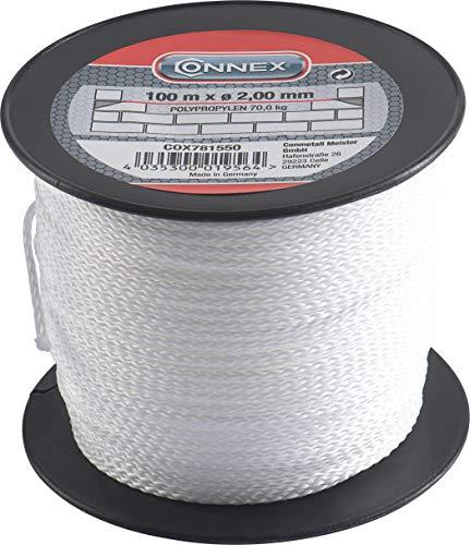 Connex Maurerschnur weiß - 100 m Länge - Ø 2,0...