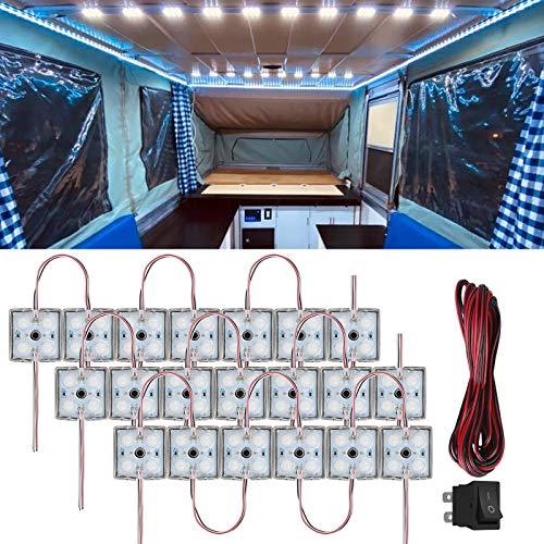 80 Auto LED Innenleuchten, 12V wasserdichte...