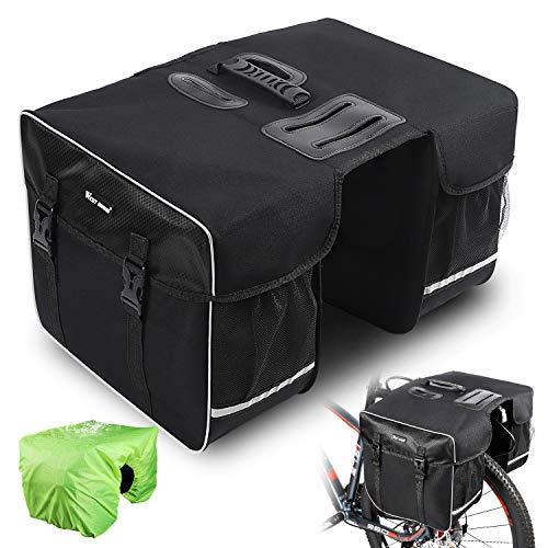 West Biking Fahrradtasche Doppeltasche...