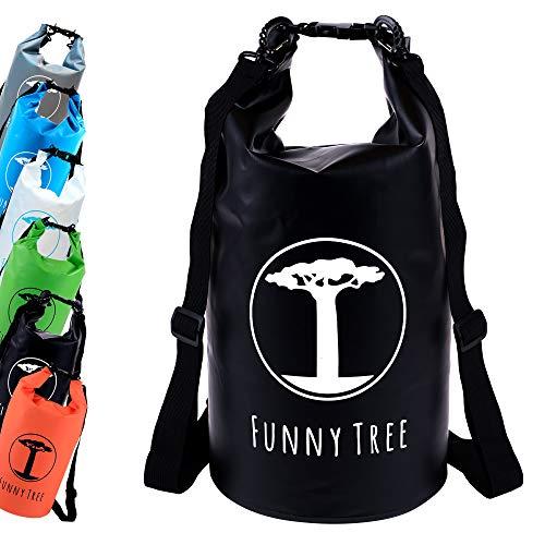 Funny Tree® Drybag. (30L schwarz) Wasserdichter...