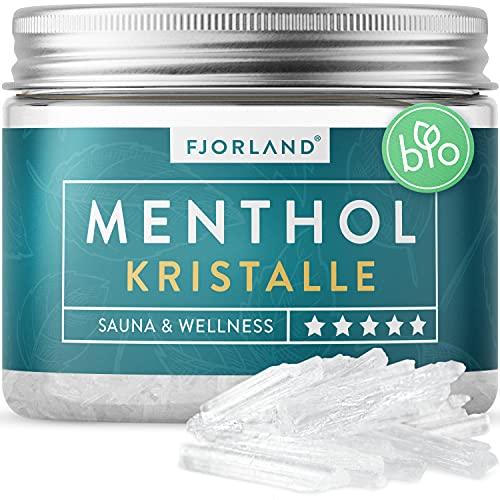 FJORLAND® Mentholkristalle 100g - Premium...