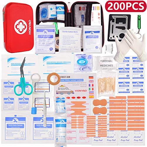 HONYAO Erste-Hilfe Set, Medizinisch Überlebens...