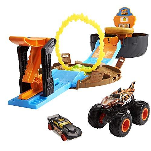 Hot Wheels GYN01 - Monster Trucks Stunt Reifen...