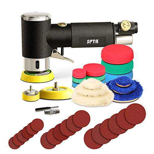 Mini poliermaschine, Druckluft Polierer, SPTA 25mm...