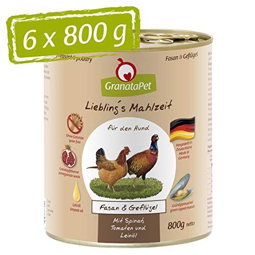 GranataPet Liebling's Mahlzeit Fasan & Geflügel,...