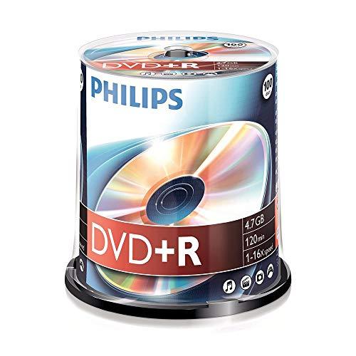 Philips DVD+R Rohlinge (4.7 GB Data/ 120 Minuten...