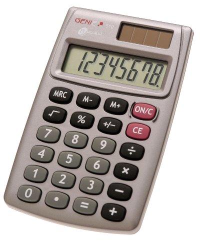 Genie 510 8-stelliger Taschenrechner (Dual-Power...
