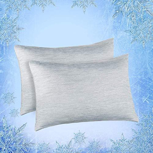 Elegear 2er Kühlender Kissenbezug Schont Haut und...