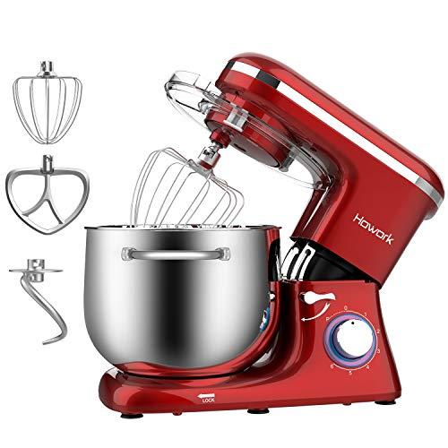 Howork Küchenmaschine 8 Liter 1500W Hohe Leistung...