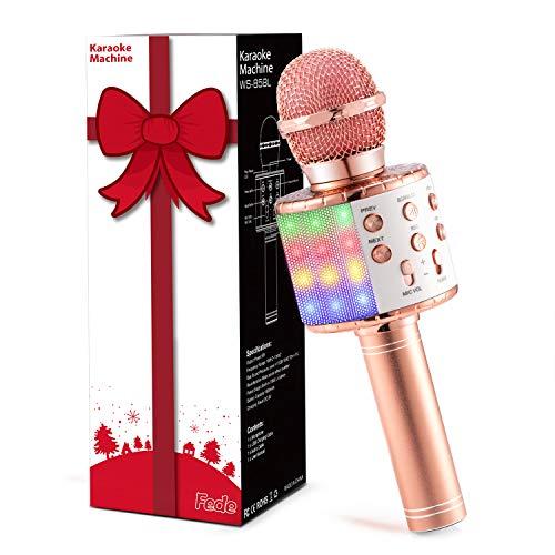 Fede Karaoke Mikrofon, Drahtloses Bluetooth...