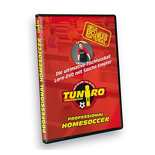 Tuniro® Tischfussball Lern DVD...