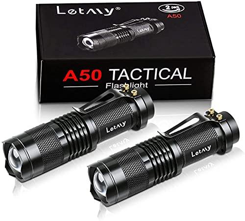 Mini LED Taschenlampe, PUAIDA Superhelle Zoombar...