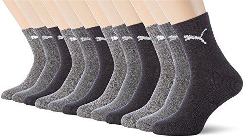 PUMA Unisex Short Crew Socks Socken Sportsocken...