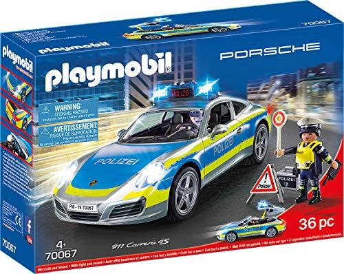 PLAYMOBIL City Action 70067 Porsche 911 Carrera 4S...