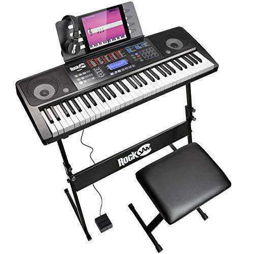 RockJam 61 Tasten Touch Display Keyboard...