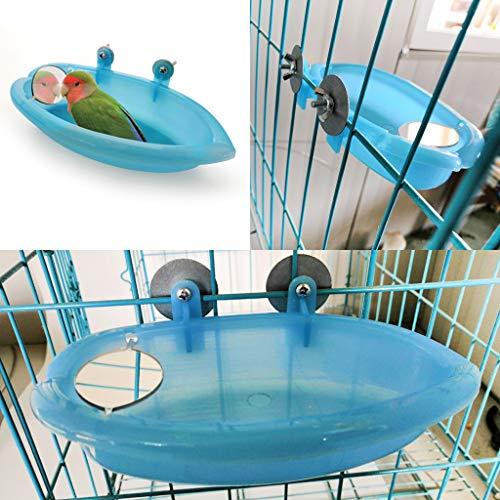 Vogel-Badewanne für Papageien,...