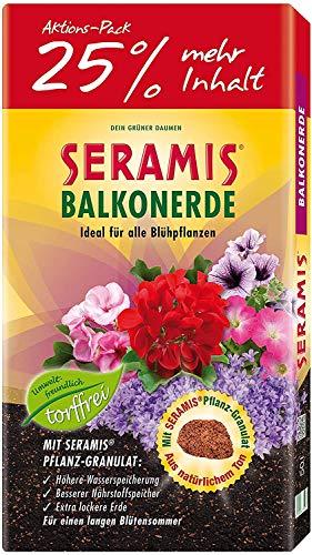 Seramis torffreie Erde, Balkon- und Blumenerde,...