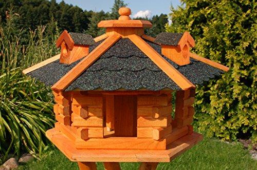 Vogelhaus, Vogelhäuschen behandelt mit...