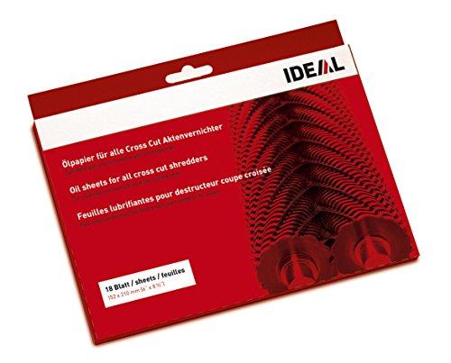 IDEAL Ölpapier (Schmiermittelblätter) für...