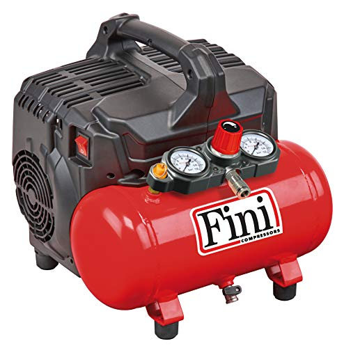 FINI SILTEK S/6 leiser Kompressor 2 Manometer (59...